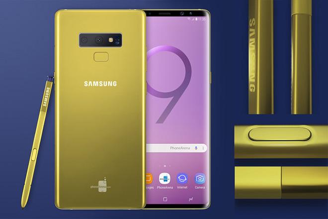 HOT: Samsung lộ video Galaxy Note 9 có màu vàng siêu đẹp - 1