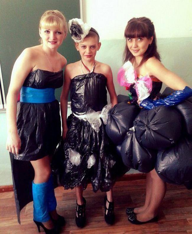 Không sợ không có váy đi dự tiệc khi mình có thông minh.