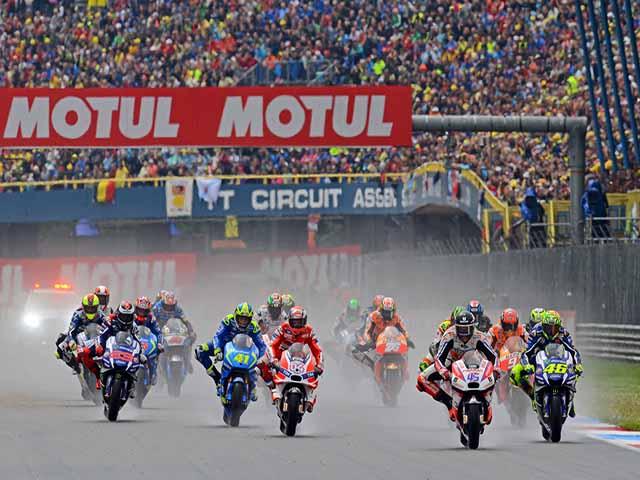 """Đua xe MotoGP: Trở lại """"đền thờ"""" tốc độ ở Hà Lan"""