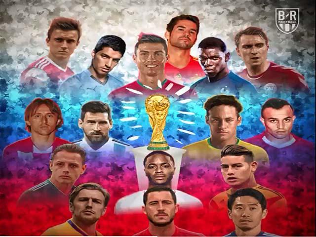 16 anh hào tiến vào vòng 1/8 World Cup 2018: Họ là những ai?