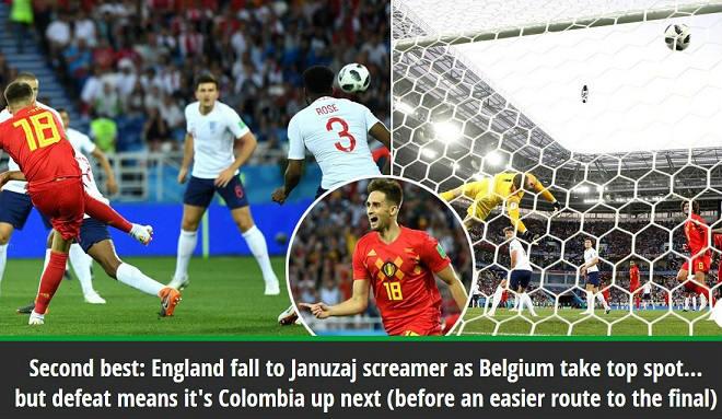 """Anh """"nhường"""" Bỉ đầu bảng: Báo chí nức nở, vội mơ chung kết World Cup - 1"""