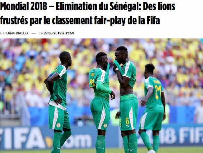 Toàn châu Phi văng khỏi World Cup: Báo Senegal đau đớn vì Fair-play - 1