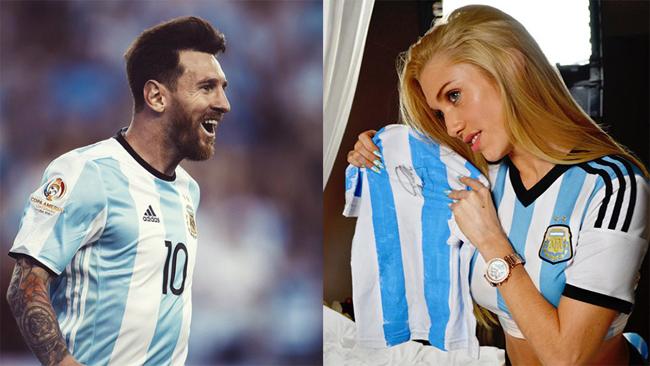 Tối nay 30.6, Argentina sẽ có trận đấu cam go trước đội tuyển Pháp. Trước giờ bóng lăn, nữ ca sỹ Melisia đã bày tỏ sự phấn khích và cầu nguyện cho Messi cùng đội nhà sẽ giành chiến thắng.