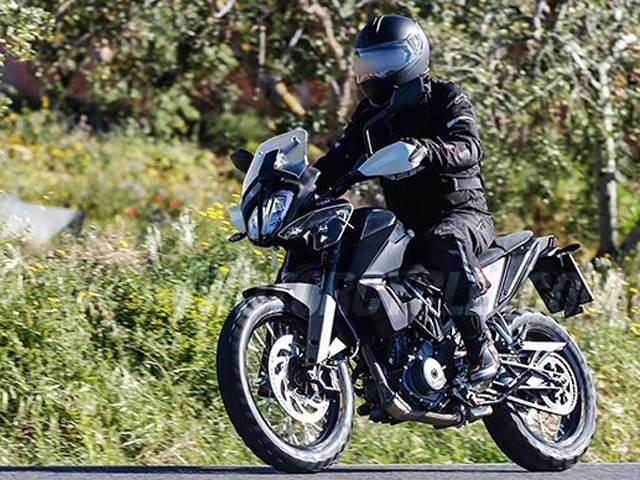2019 KTM 390 Adventure lộ ảnh thử nghiệm