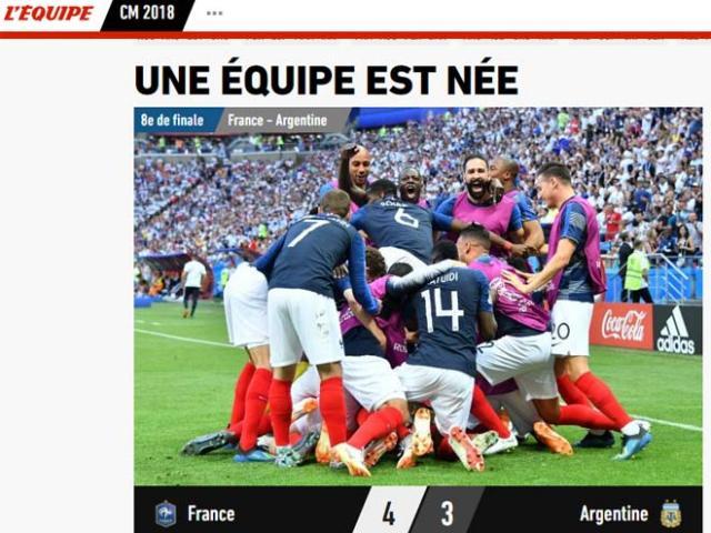 Pháp hạ Argentina: Báo chí gọi là đội quân siêu hạng, ví Mbappe với Rô béo