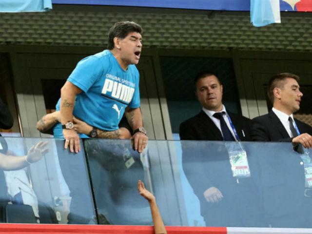 Trực tiếp tin nóng World Cup 30/6: FIFA cảnh cáo Maradona quá khích
