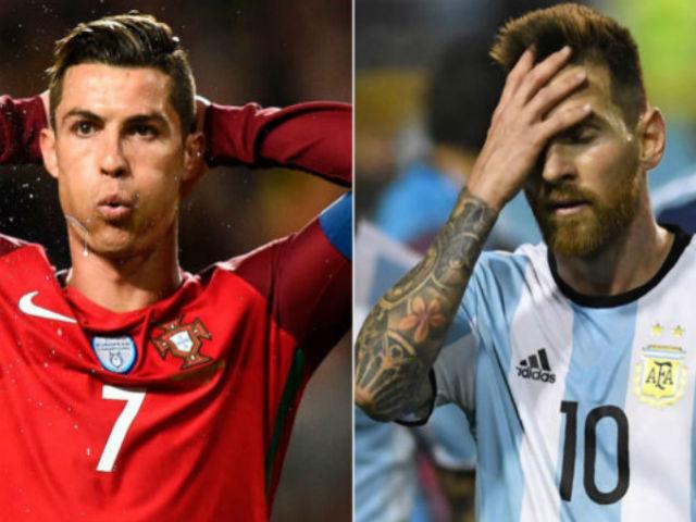 """Kịch bản điên rồ World Cup: Argentina - BĐN về nước, Messi & Ronaldo """"gác kiếm"""""""