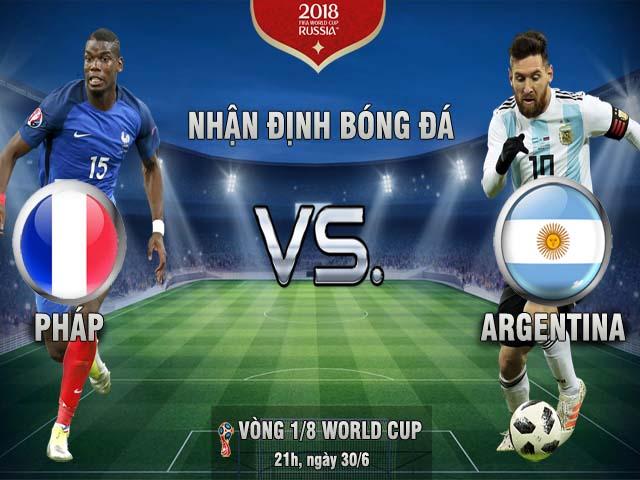 """World Cup, Pháp - Argentina: Messi rũ bùn, xử đẹp """"Gà trống""""?"""