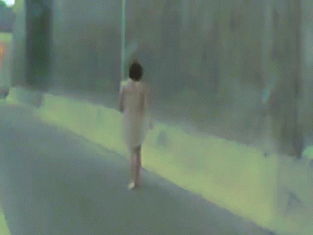Người đàn ông khỏa thân thản nhiên đi bộ trên đường cao tốc Mỹ