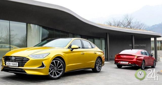 Hyundai Sonata 2020 được xem xét trang bị hệ dẫn động 4 bánh