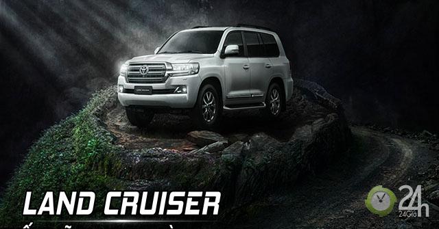 Toyota Land Cruiser 2019 chính thức ra mắt thị trường Việt Nam với giá gần 4 tỷ đồng