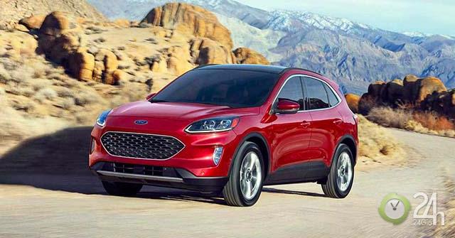 Xe Ford Escape 2020 chính thức ra mắt với nhiều thay đổi bức phá
