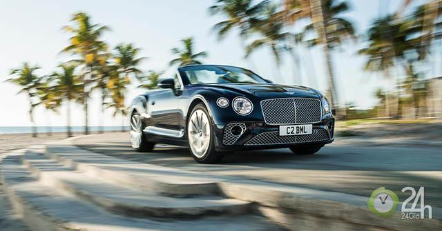 Bentley giới thiệu động cơ V8 trên Bentley Continental GT và GT Convertible