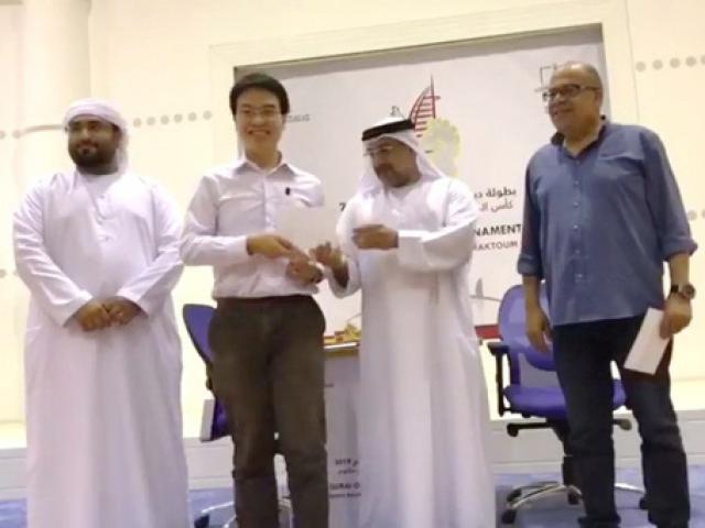 Quang Liêm chơi 9 ván 1 buổi sáng: Hạ 7 cao thủ ẵm bội tiền ở Dubai