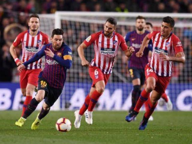 Barcelona - Atletico Madrid: Thẻ đỏ bước ngoặt, siêu phẩm từ sao sáng