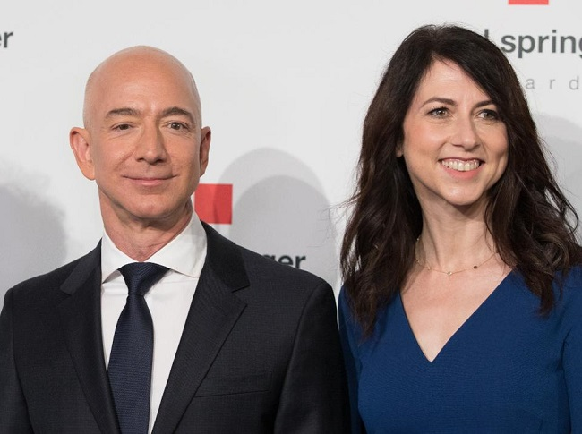 After divorce, former wife Jeff Bezos received only a quarter of the property and became the third richest billionaire TG-1