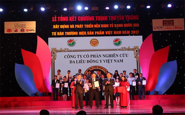 Công ty Nghiên cứu Da liễu Đông y Việt Nam Vinacare – Giải thưởng danh giá, xứng tầm thương hiệu - 1