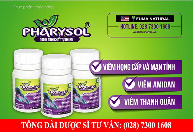 Tác dụng của Pharysol trong hỗ trợ điều trị viêm họng, viêm amidan - 1