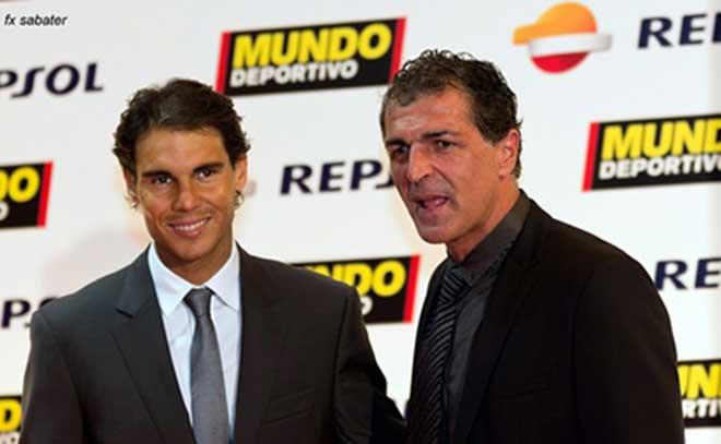 """Nadal & ông bác bóng đá: SAO Barca """"khóa tịt"""" Ronaldo & Henry, suýt về MU - 1"""