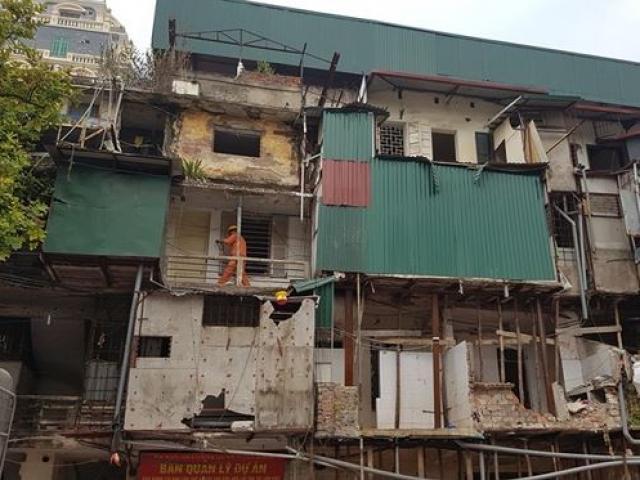 """Cận cảnh khu chung cư cải tạo 40 tỷ một căn ở Hà Nội gây """"choáng"""""""