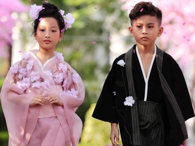 Cảm hứng Nhật Bản tại tuần lễ thời trang trẻ em Việt Nam