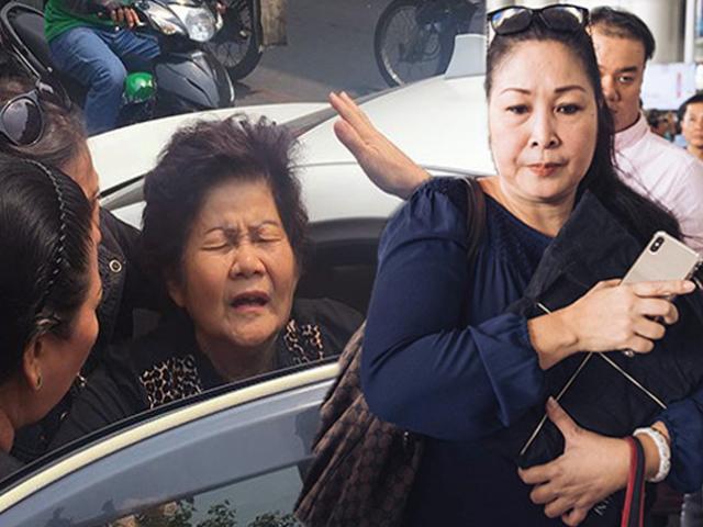 Mẹ cố NS Anh Vũ nhập viện cấp cứu, NSND Hồng Vân ra sân bay đón linh cữu