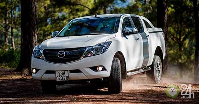 Mazda BT-50 chiếm vị trí số 2 phân khúc bán tải tại thị trường Việt Nam