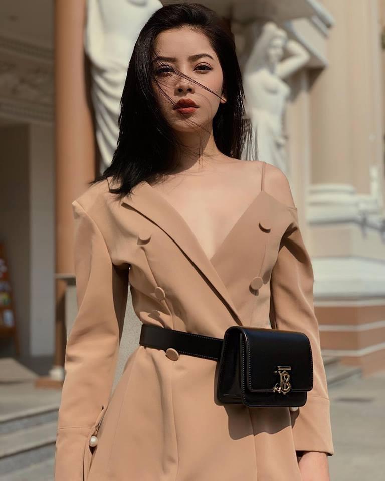 Mặc vest bất đối xứng đẹp như Chi Pu - 1