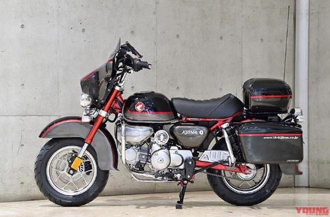 Xế lạ MonDavi: Thân Honda Monkey nhưng hình hài Harley-Davidson Glide Ultra - 1