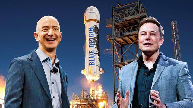 """Ông chủ Tesla """"đá đểu"""" CEO Amazon là """"kẻ cóp nhặt"""" - 1"""