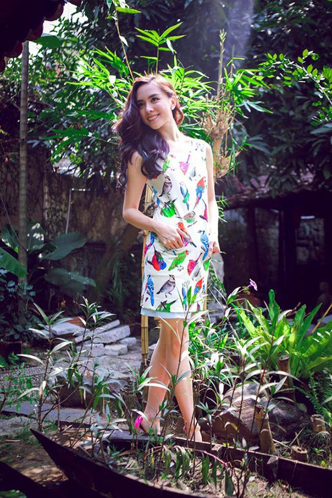 Saukhi kết hôn, ngoàiphụ giúp công việc kinh doanh nhà chồng, Dương Trương Thiên Lý còn trở thành giám đốc quốc gia Hoa hậu Hoàn vũ Việt Nam.