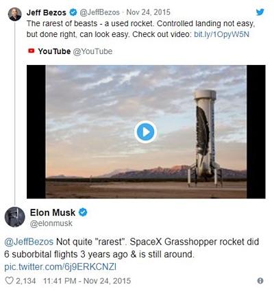 """Ông chủ Tesla """"đá đểu"""" CEO Amazon là """"kẻ cóp nhặt"""" - 3"""