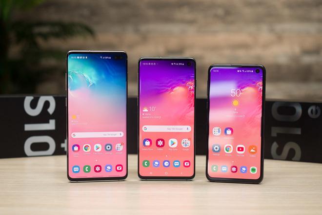Cách chụp ảnh màn hình trên bộ ba Galaxy S10 - 1