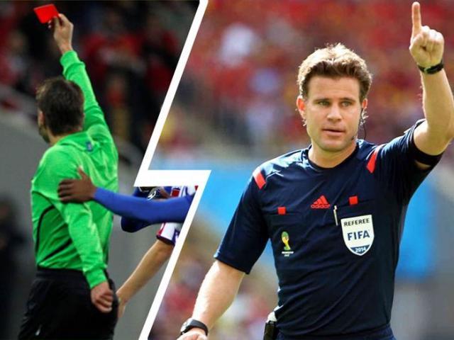 """Trọng tài đại chiến Barca - MU: Messi sợ dớp buồn, """"Quỷ đỏ"""" mừng thầm"""