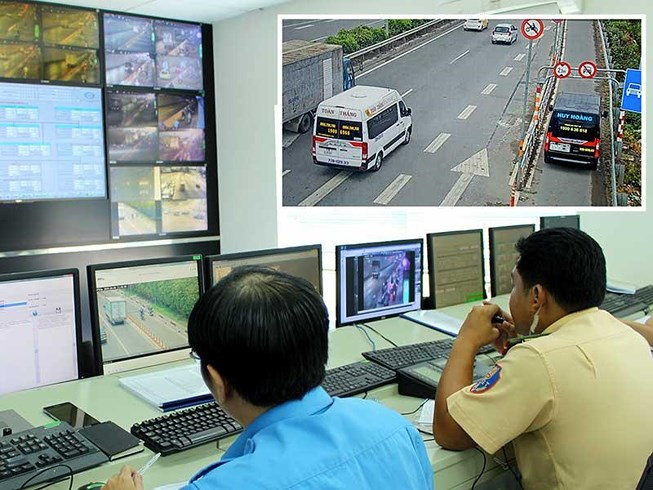 Traffic camera scans across 760 Ho Chi Minh City - 1
