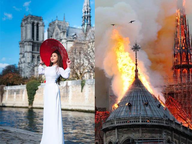 Nhà thờ Đức Bà Paris bốc cháy, sập đỉnh tháp: Sao Việt cầu nguyện
