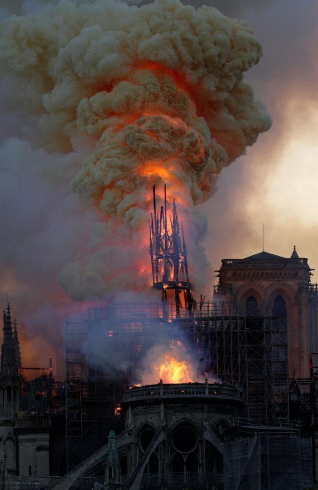 Cháy Nhà thờ Đức bà Paris: Nguyên nhân do đâu? - 1