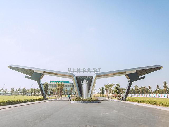 Nhà máy ô tô Vinfast chính thức đi vào hoạt động sớm hơn 3 tháng so với dự kiến