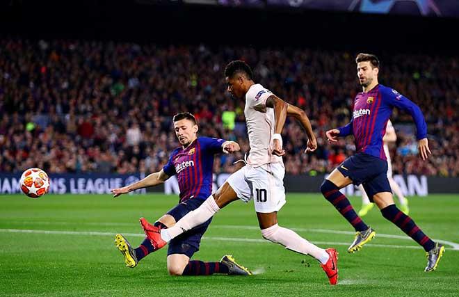 MU đụng bức tường đẳng cấp Barca: Messi rực rỡ, De Gea thảm họa - 1