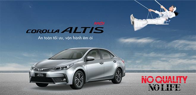 Bảng giá xe Toyota Altis 2019 lăn bánh, hỗ trợ trả góp lãi suất hấp dẫn - 1
