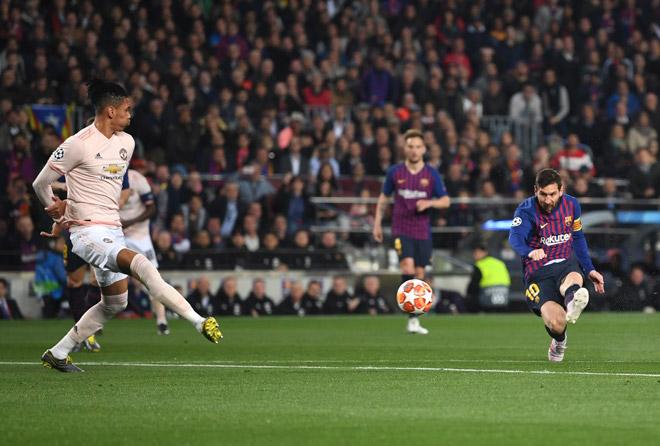 """Tin nóng tứ kết Cúp C1 17/4: Barca hạ MU, thành """"Vua sút xa"""" như Chelsea - 1"""