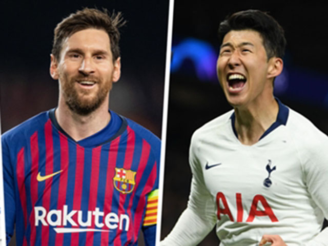 Son Heung Min dreamed of winning Cup C1: Can Golden Ball compete with Messi?