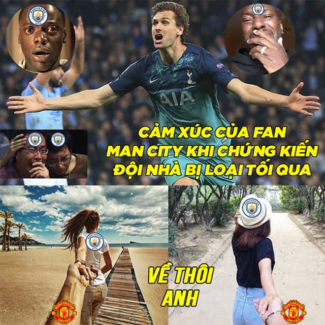 """Man City """"nắm tay"""" MU cùng nhau rời khỏi cúp C1 - 1"""