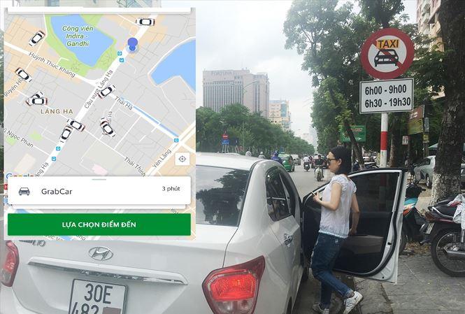 """Hà Nội ủng hộ """"quản"""" Grab như taxi - 1"""