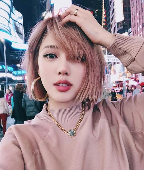 Những kiểu tóc ngắn đẹp và trẻ trung chào hè 2019 - 1