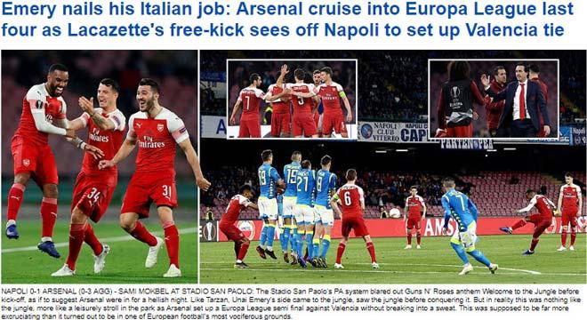 Arsenal - Chelsea vào bán kết Europa League: Kẻ được ngợi ca, người bị chê bai - 1