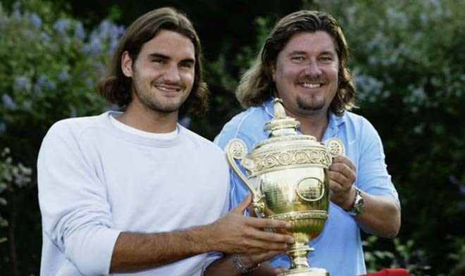 """Bí mật thành công của Federer: Ân nhân thay đổi """"Tàu tốc hành"""" là ai? - 1"""