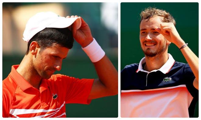 """Djokovic thua sốc ở Monte Carlo: Thống kê """"thảm họa"""", bái phục đối thủ - 1"""