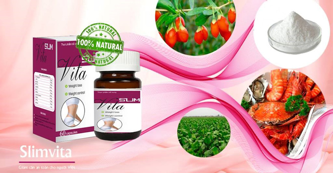 Slim Vita đem tới 3 tác động giảm cân tự nhiên và an toàn - 1