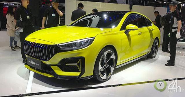 Hãng xe Trung Quốc chào hàng mẫu xe thể thao Hongqi H5 Sports tại Shanghai auto show